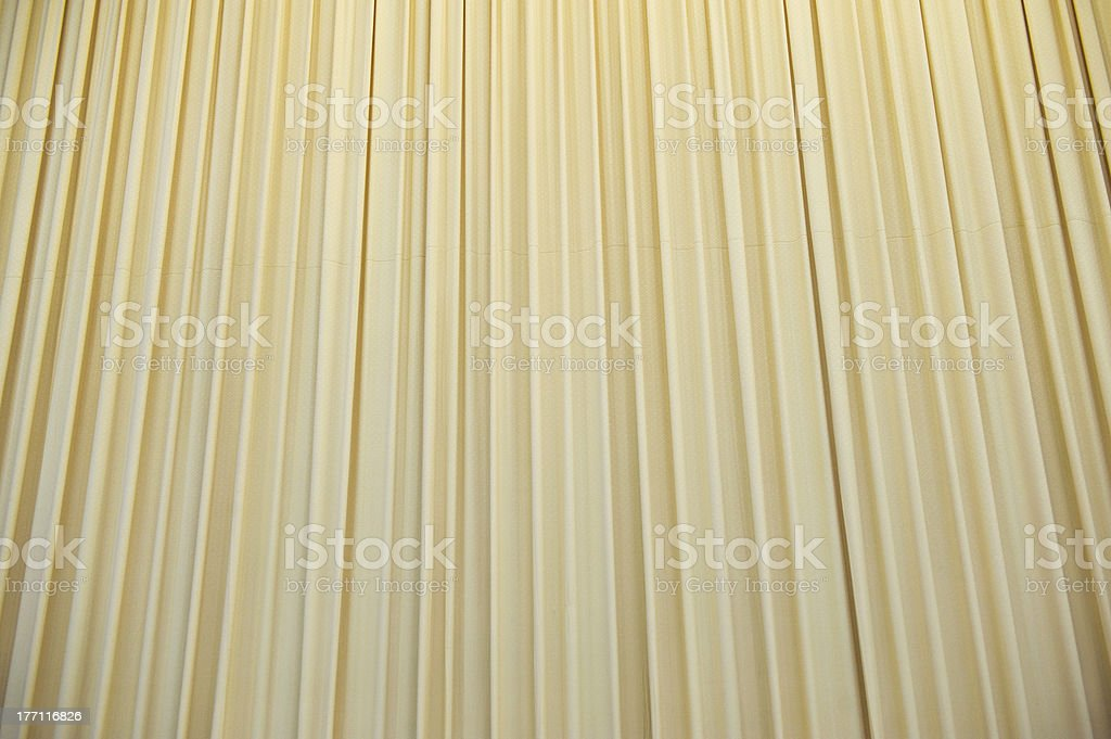 theatre curtain royalty-free stock photo