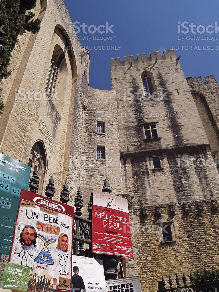 Theatre festival in Avignon, France, july 2012 royalty-free stock photo