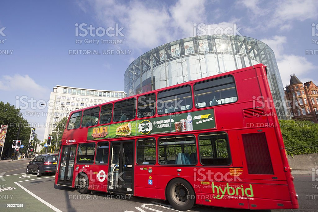 IMAX Theatre in London, England royalty-free stock photo