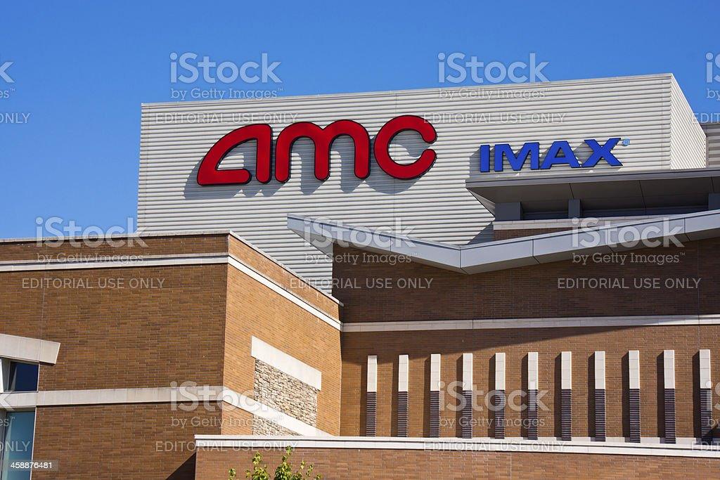 AMC Theatre in Tukwila Washington stock photo