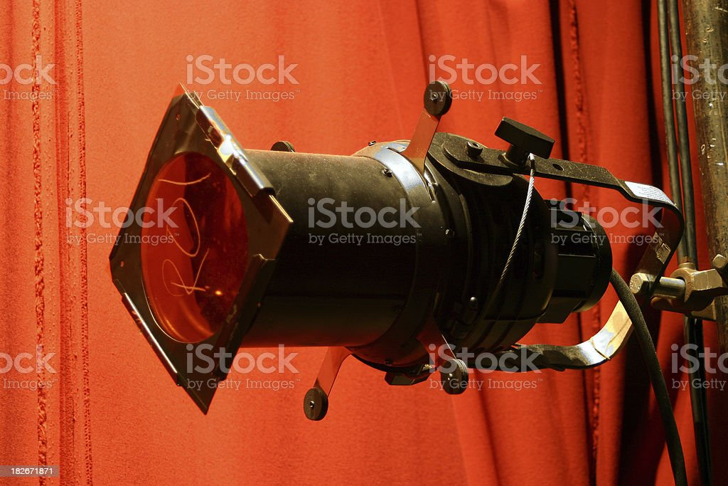 Theatre Lights royalty-free stock photo