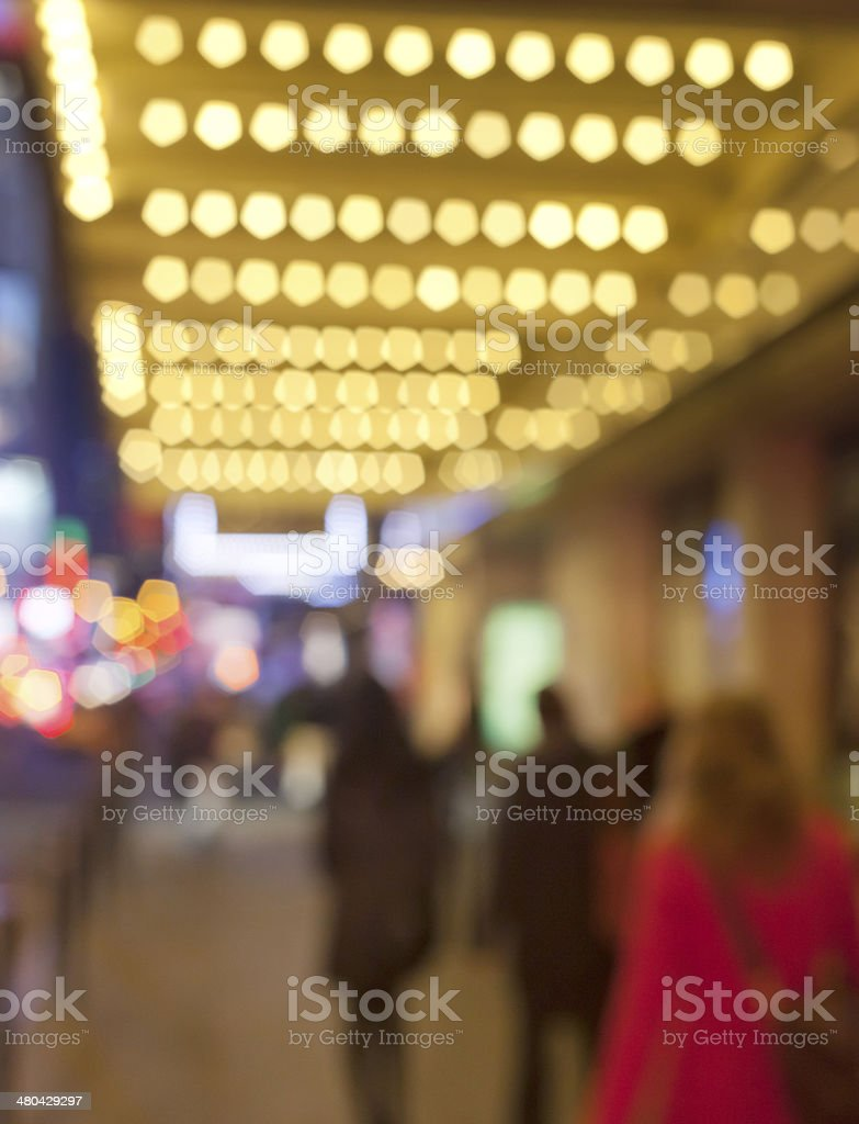 Theatre Marquee stock photo