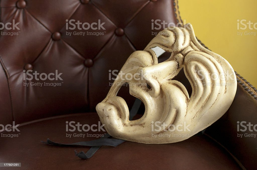 Theatre mask royalty-free stock photo