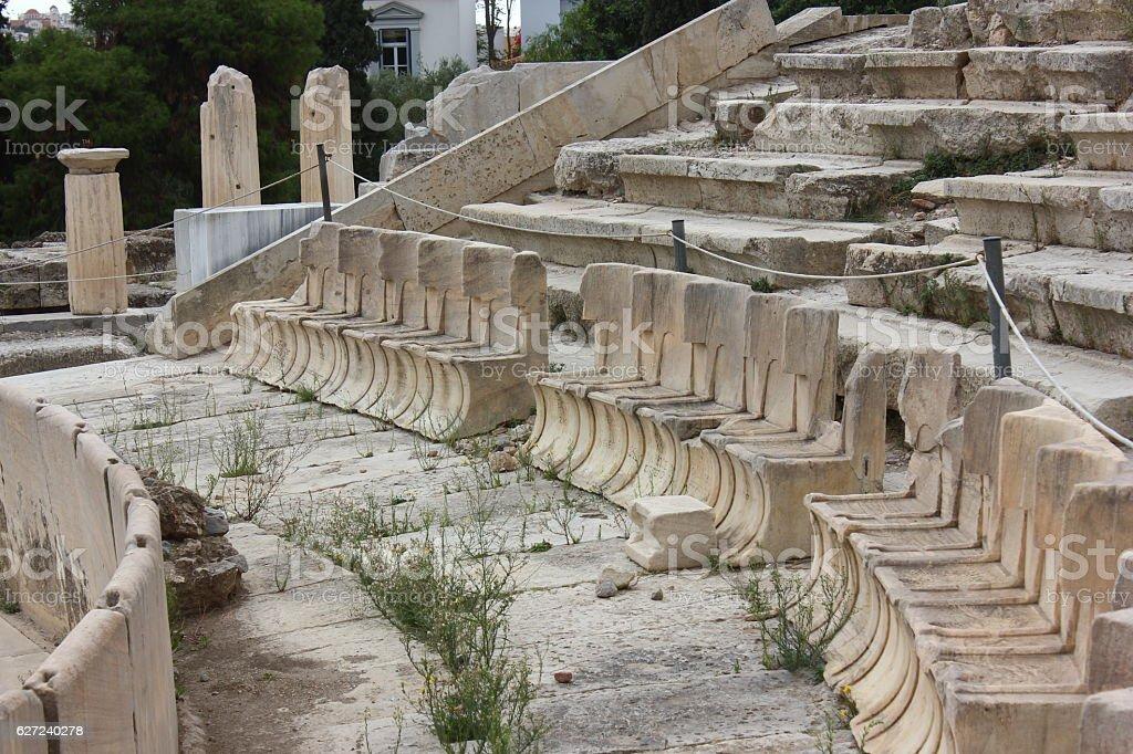 Theatre of Dionysus stock photo