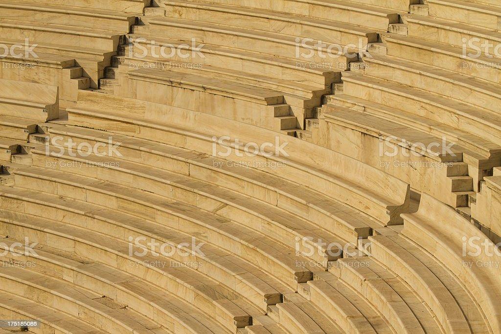 Theatre of Herod Atticus, Acropolis, Athens stock photo