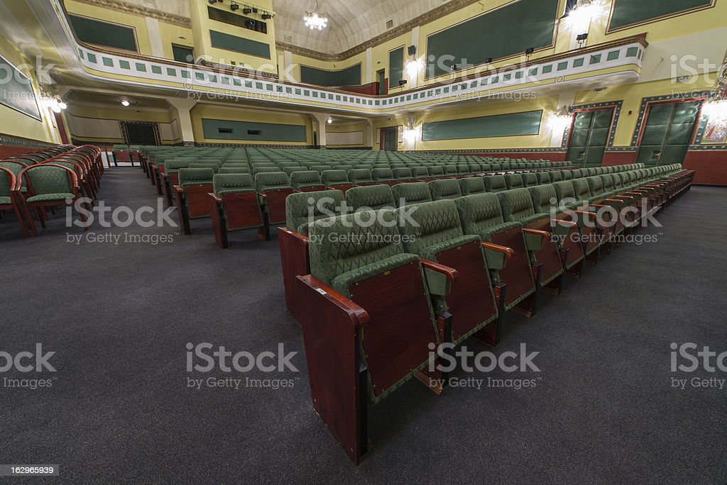 theatre royalty-free stock photo