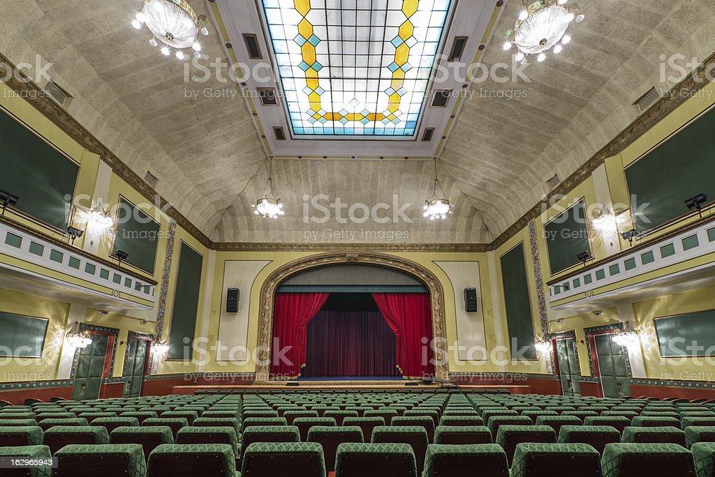 theatre royalty-free stock photo