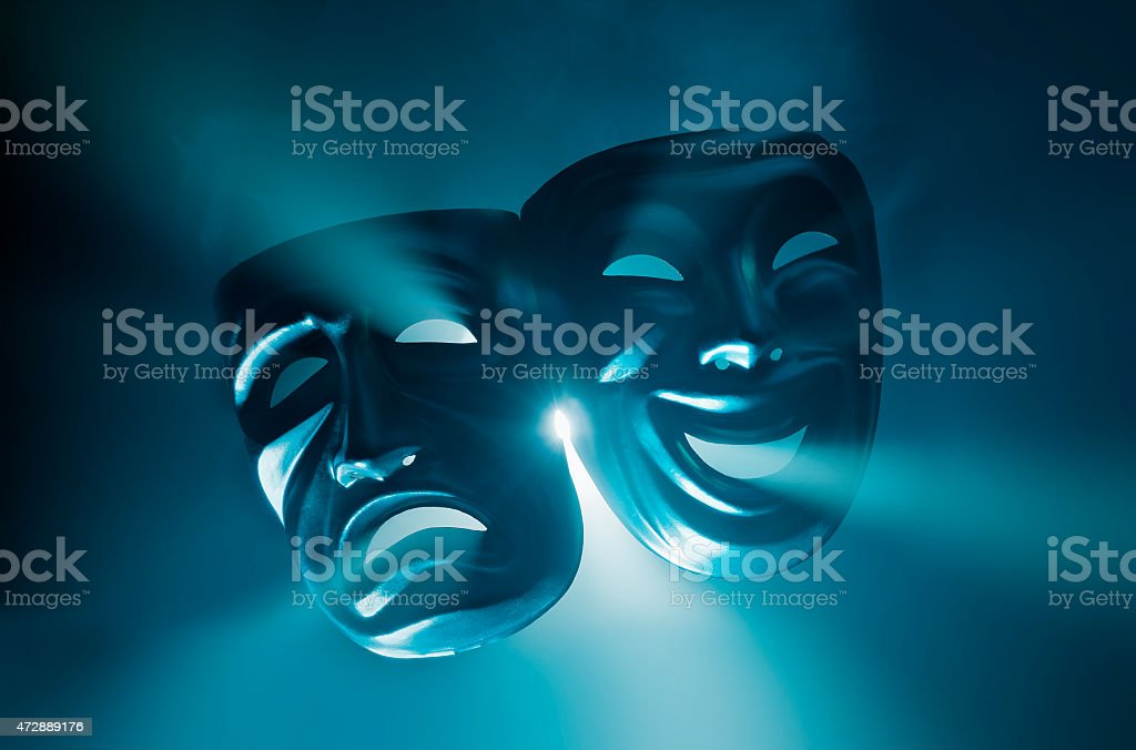 Theatre stock photo