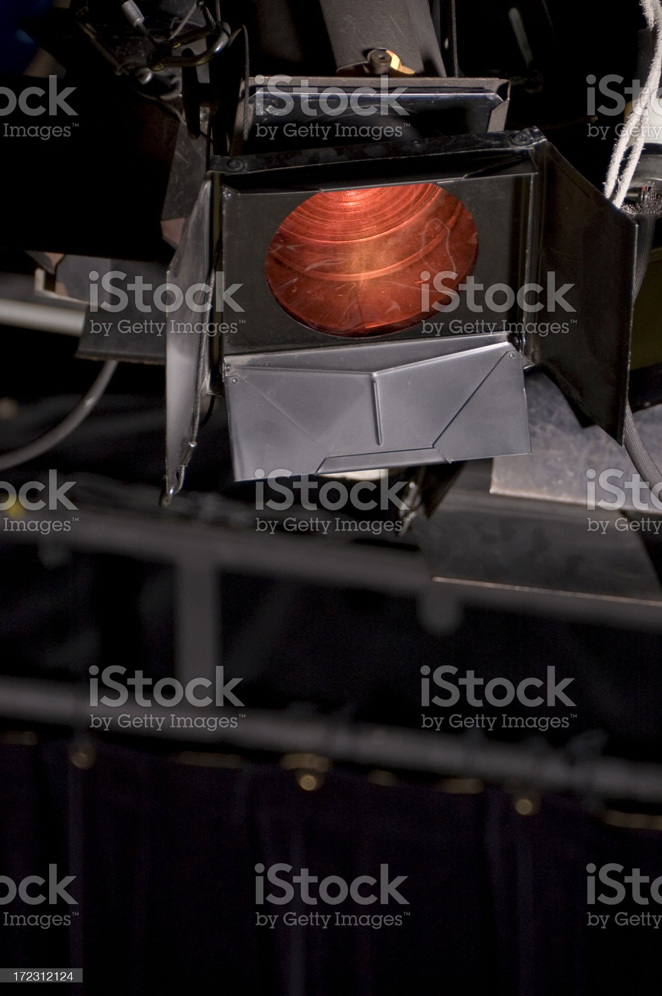 Theatre projector royalty-free stock photo