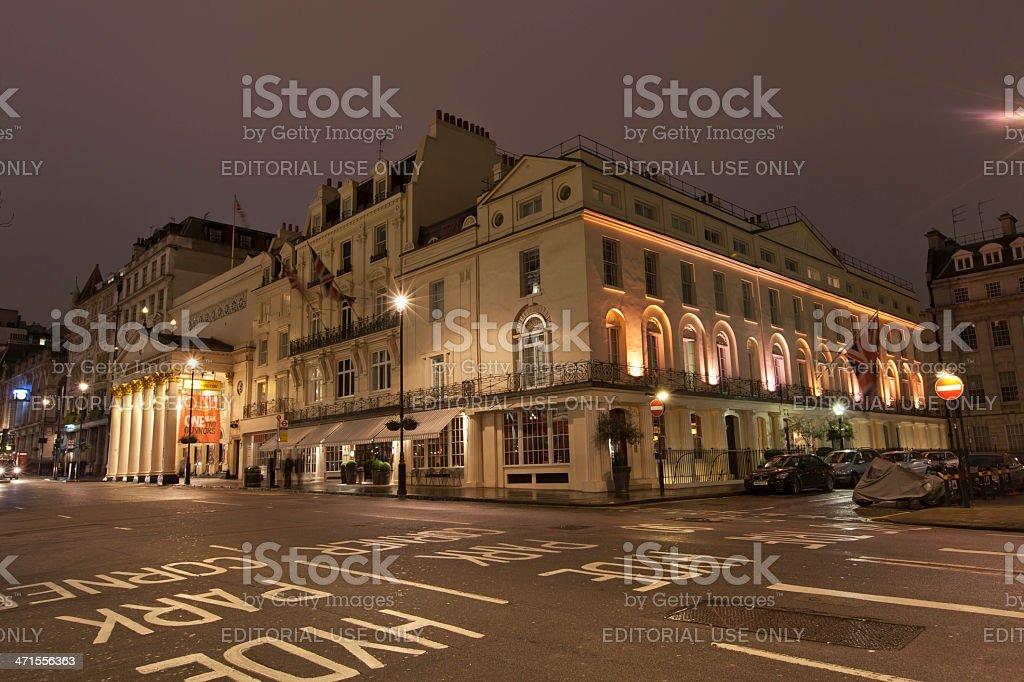 Theatre Royal Haymarket stock photo
