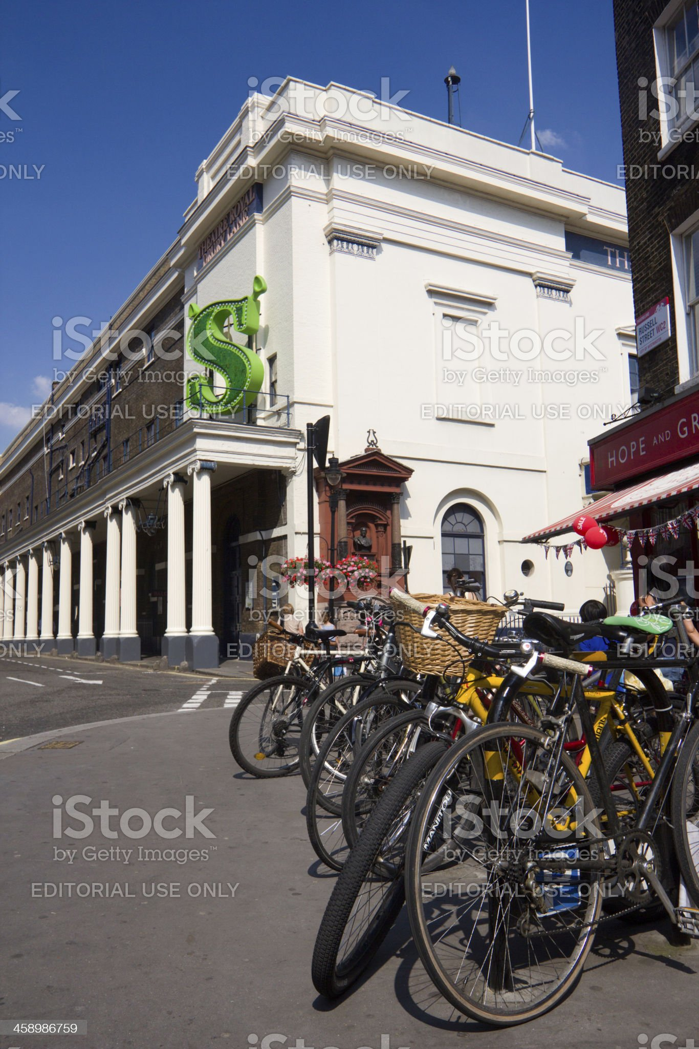 Theatre Royal in London, England royalty-free stock photo