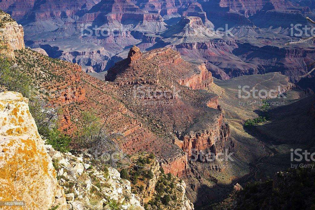 Creste Theatrica del Grand Canyon foto stock royalty-free