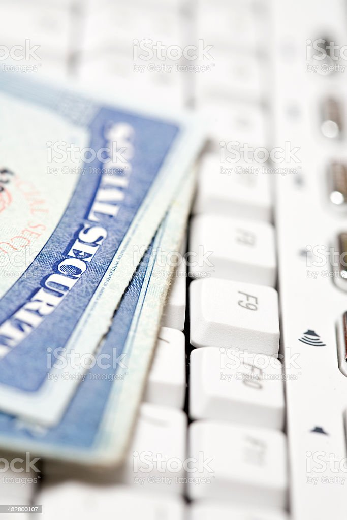 ID Theft royalty-free stock photo