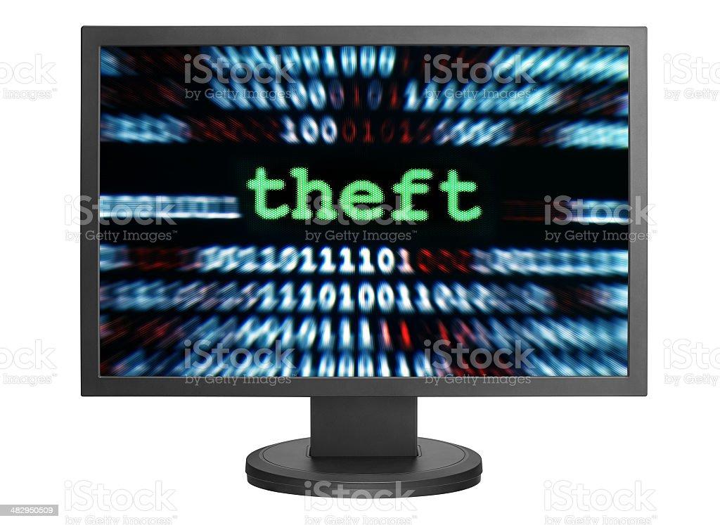 Theft royalty-free stock photo