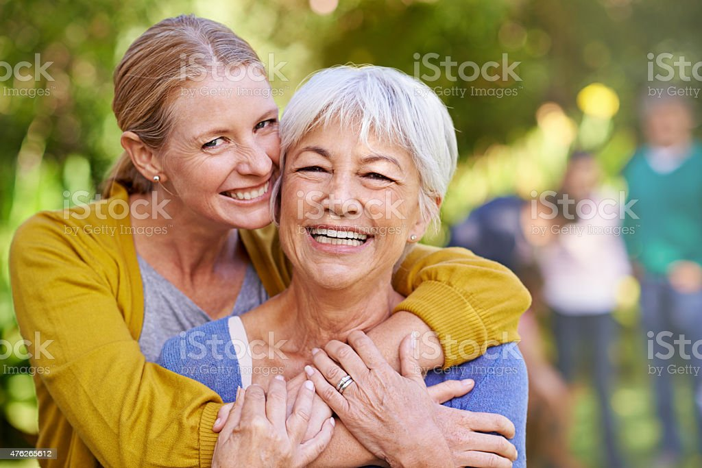 Their bond is stronger than ever stock photo