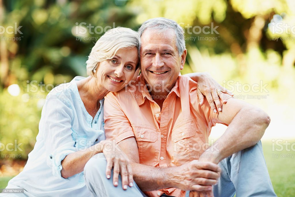 Their love grows everyday stock photo