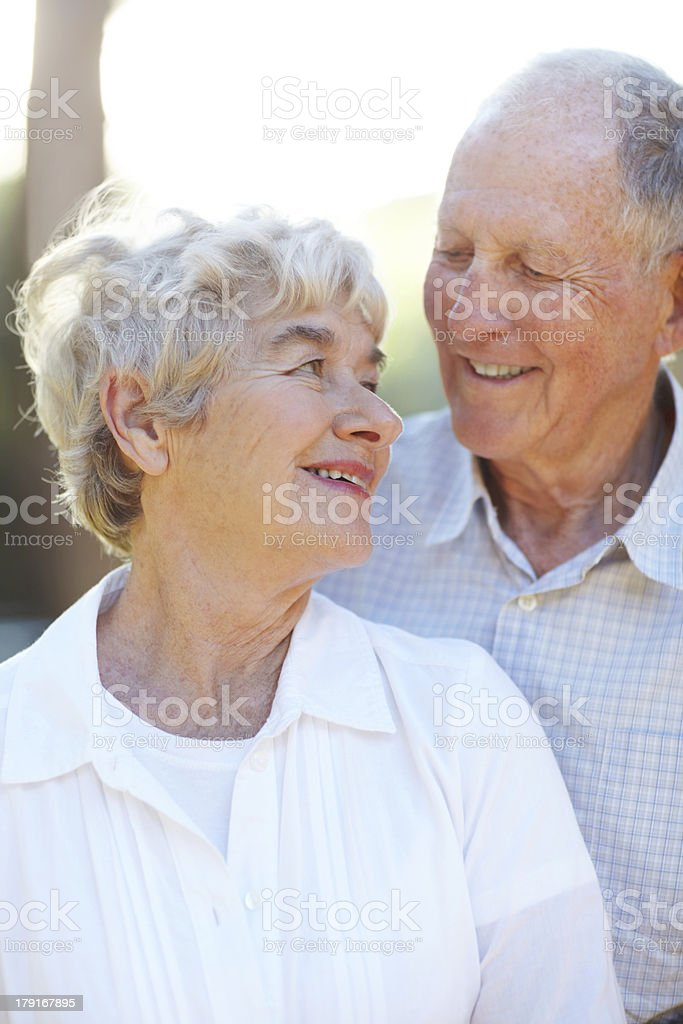 Their love is still going through royalty-free stock photo