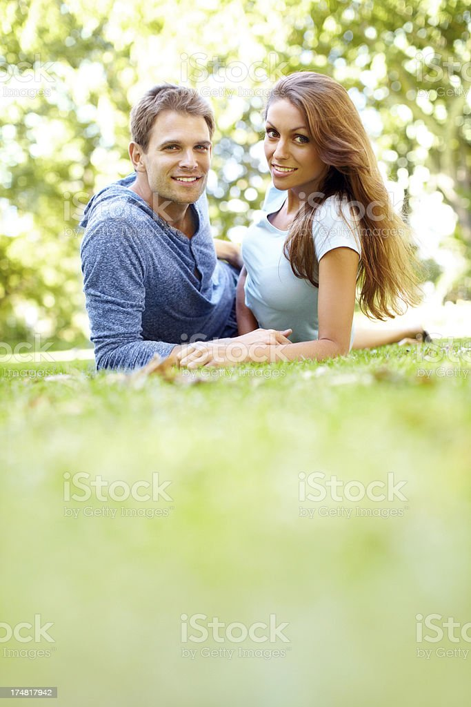 Their love shines like the sun royalty-free stock photo