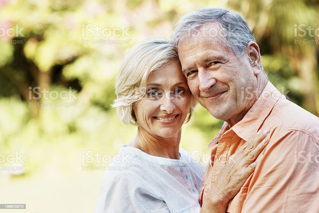 Their love stands the test of time royalty-free stock photo