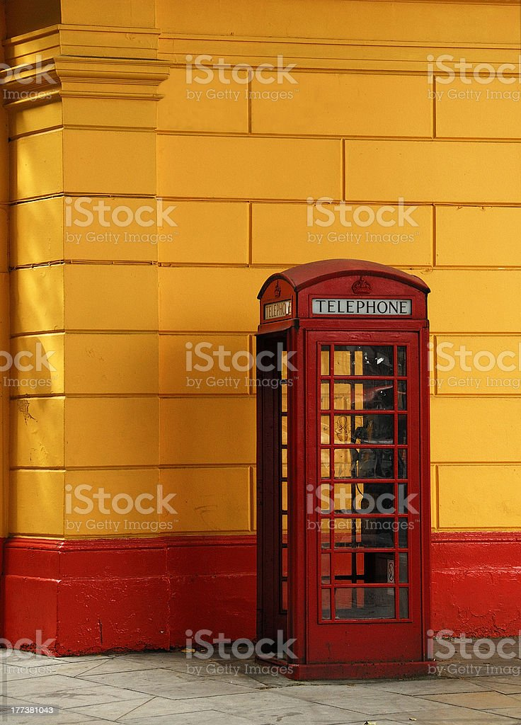 Thelephone box royalty-free stock photo