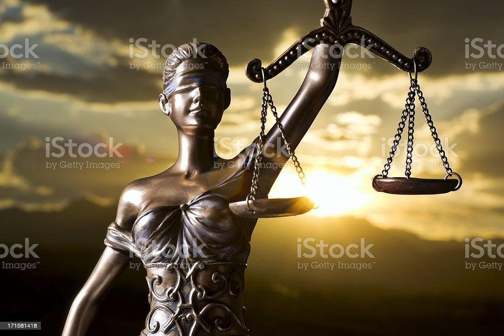 Themis at Sunset stock photo