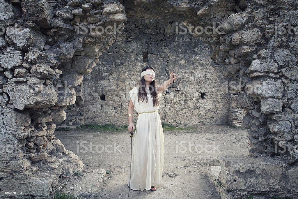 Themis royalty-free stock photo