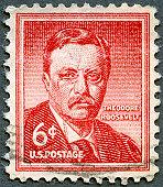 USA 1955 Theodore Roosevelt (1858-1919) 26th President