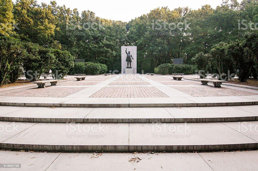 Theodore Roosevelt Island stock photo