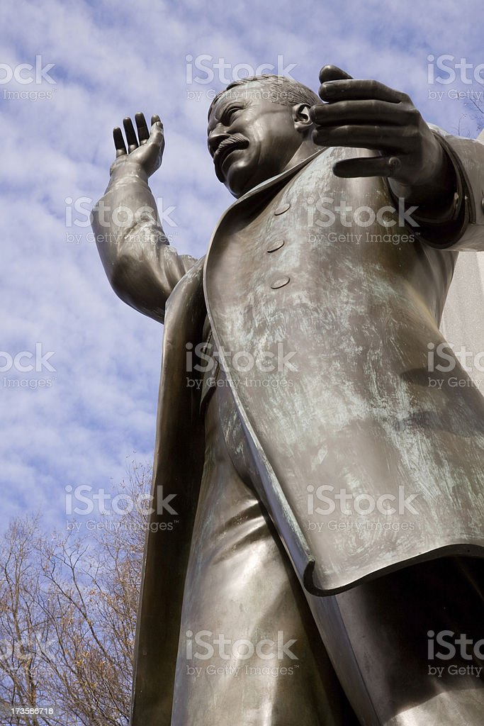 Theodore Roosevelt Memorial royalty-free stock photo