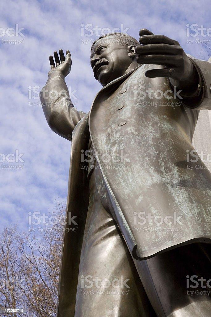 Theodore Roosevelt Memorial stock photo