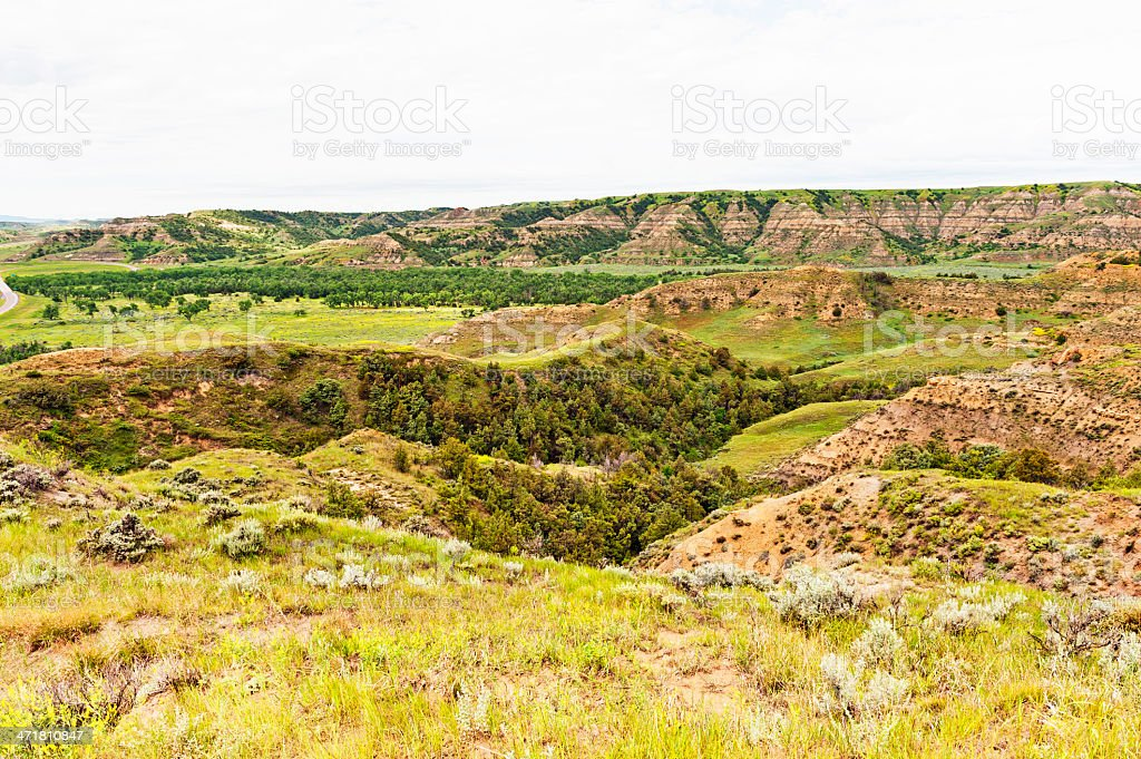 Theodore Roosevelt National Park 1 stock photo