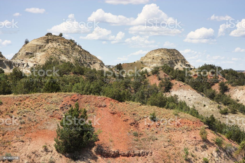 Theodore Roosevelt National Park North Dakota stock photo