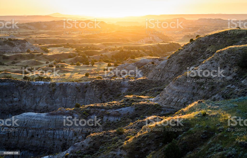 Theodore Roosevelt National Park, stock photo