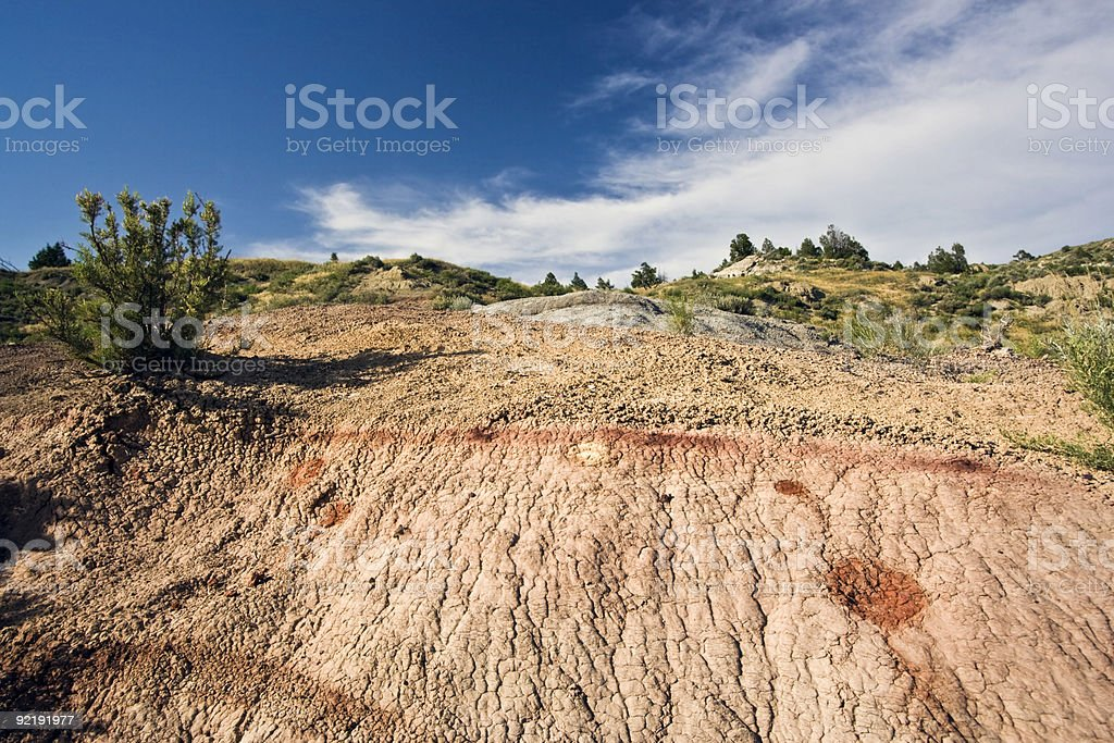 Theodore Roosevelt National Park royalty-free stock photo