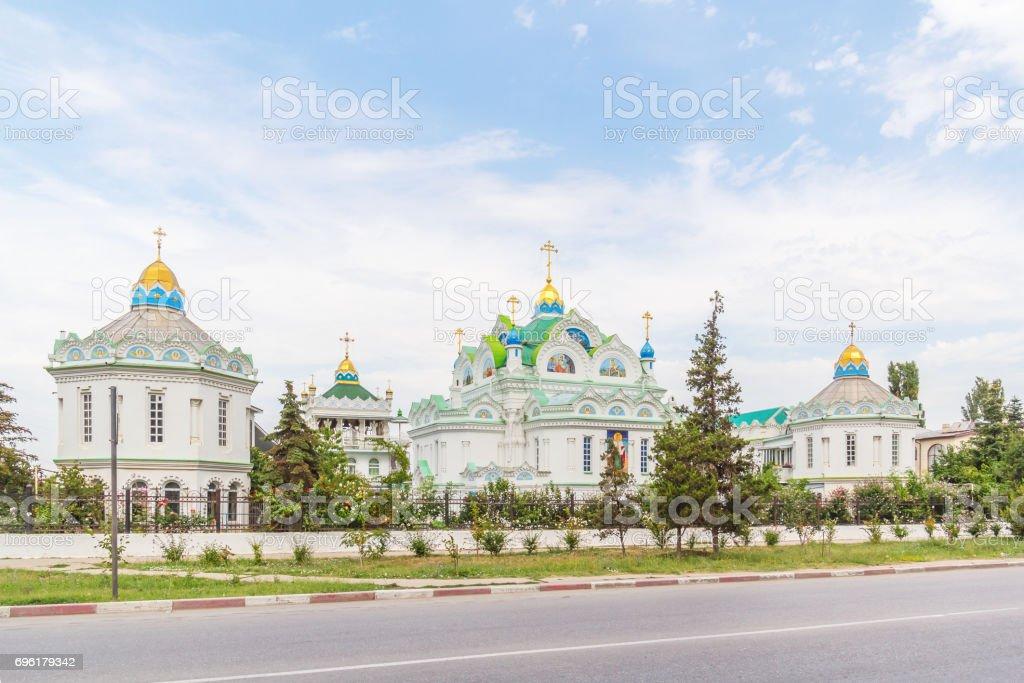 Theodosius. Church of Catherine, Crimea stock photo