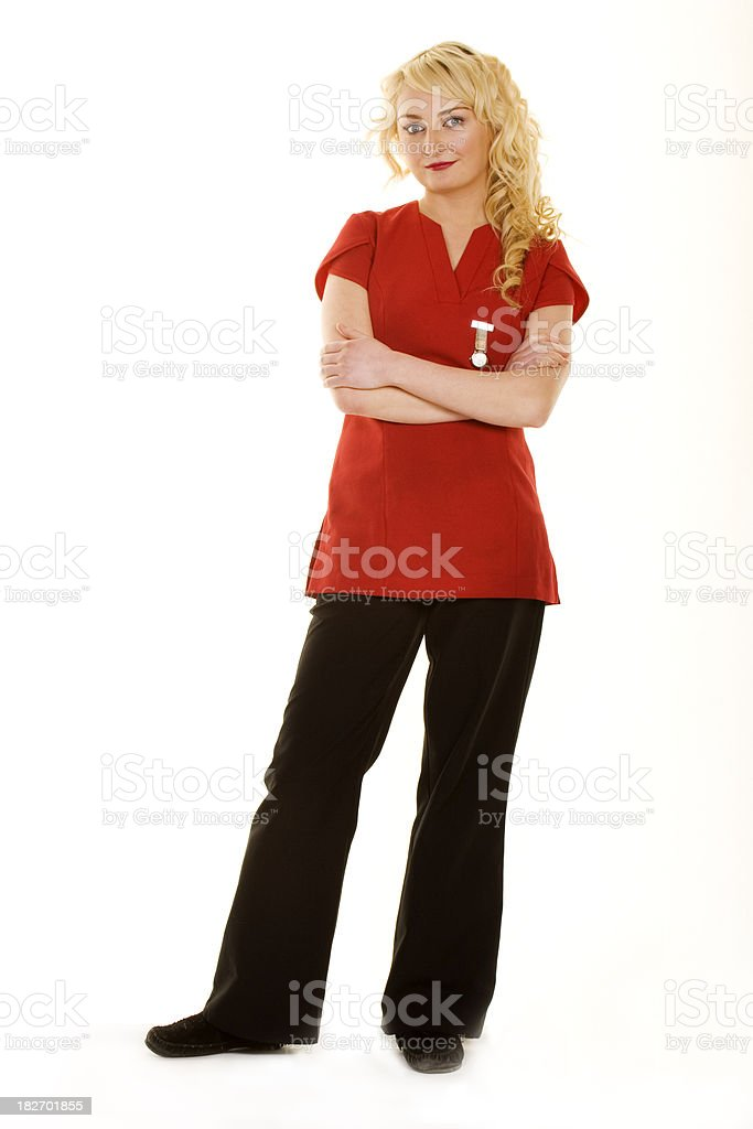 therapist royalty-free stock photo