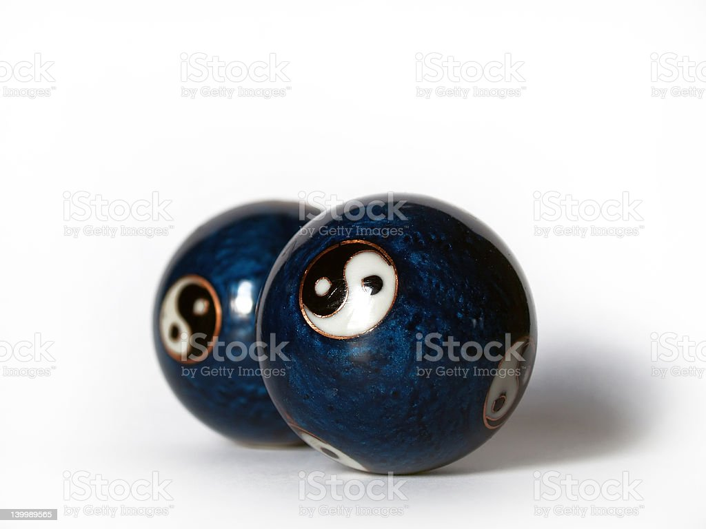 Therapy balls royalty-free stock photo