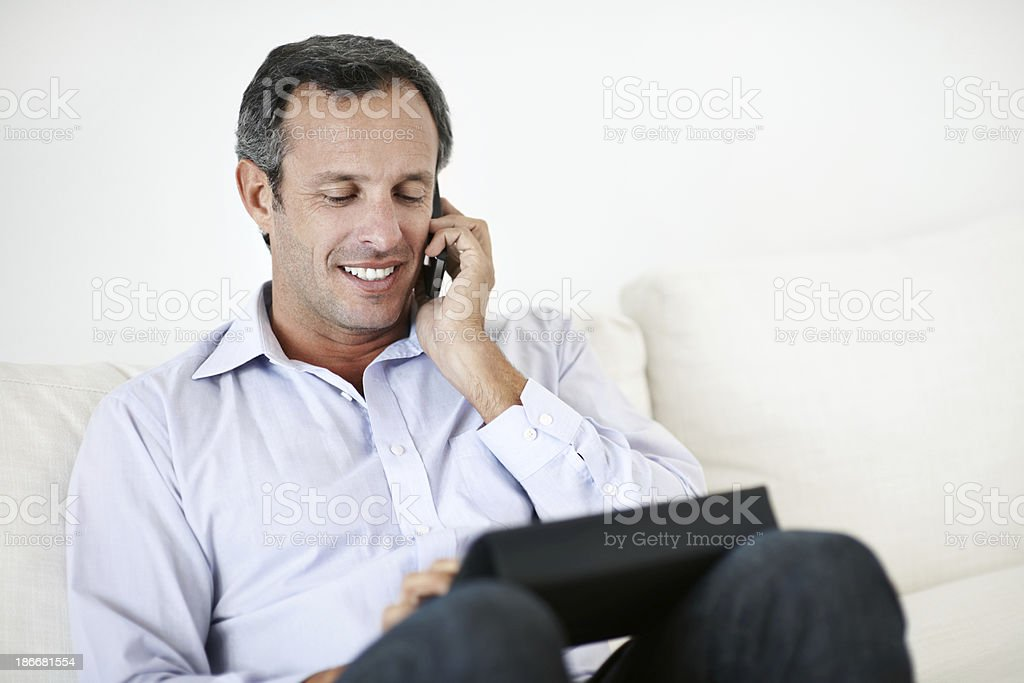 There are many ways to stay in touch... royalty-free stock photo