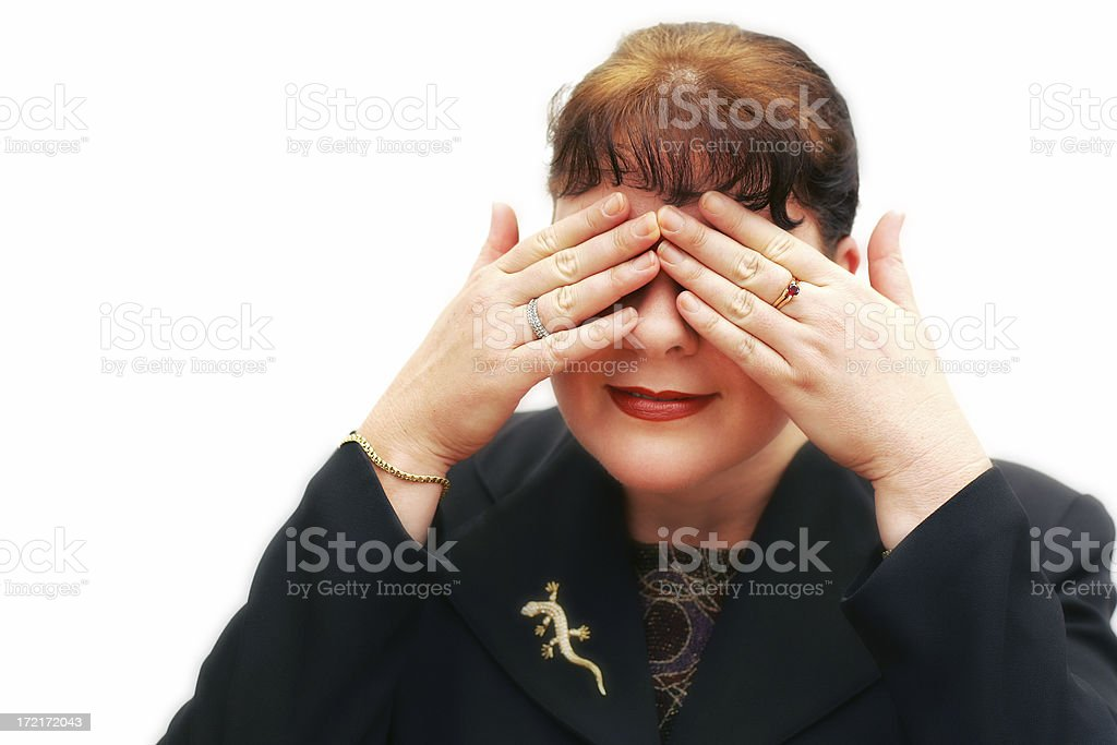 There Are None So Blind... stock photo