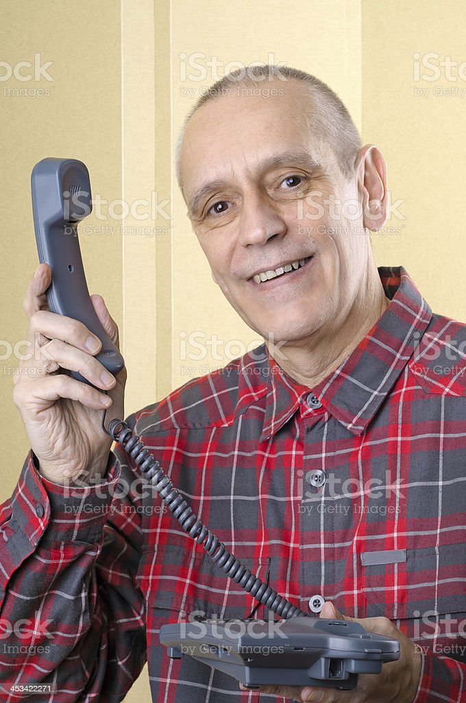 There is a Phone Call for You stock photo