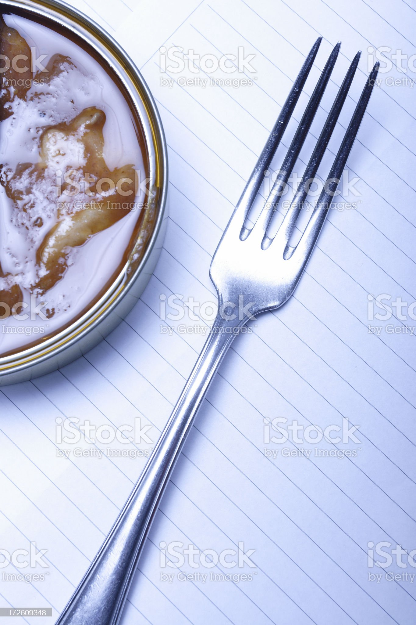There is something fishy here royalty-free stock photo