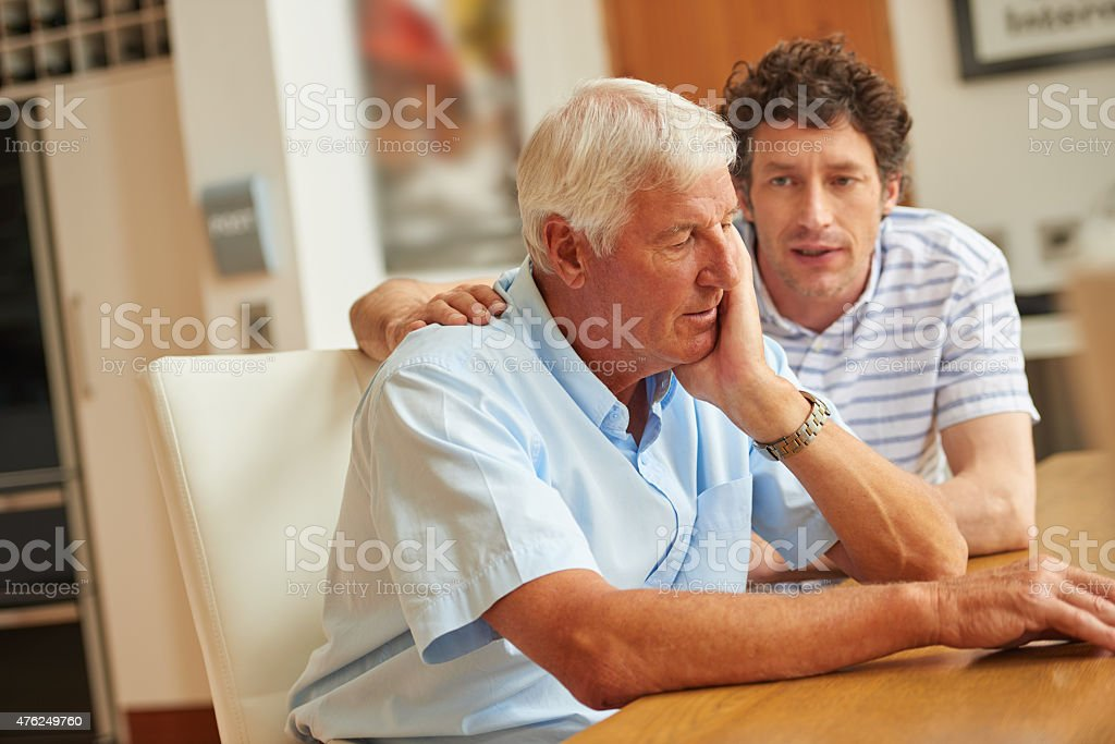There to support each other stock photo