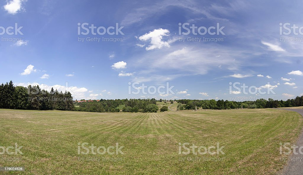 There was the village of Lidice here royalty-free stock photo