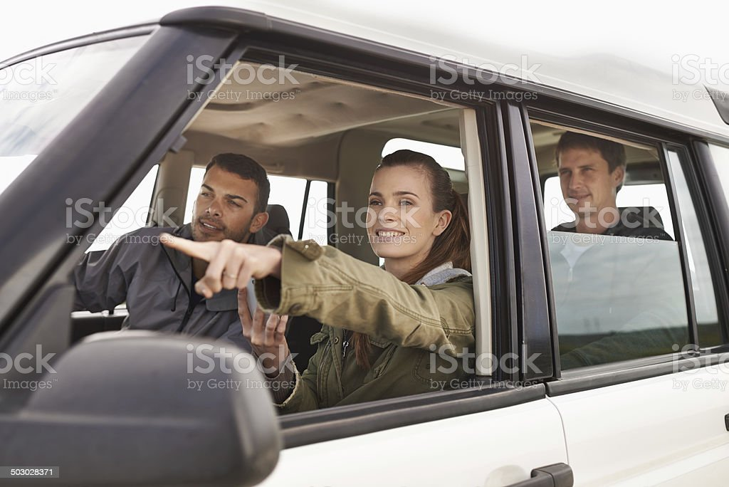 There'es where we need to be stock photo