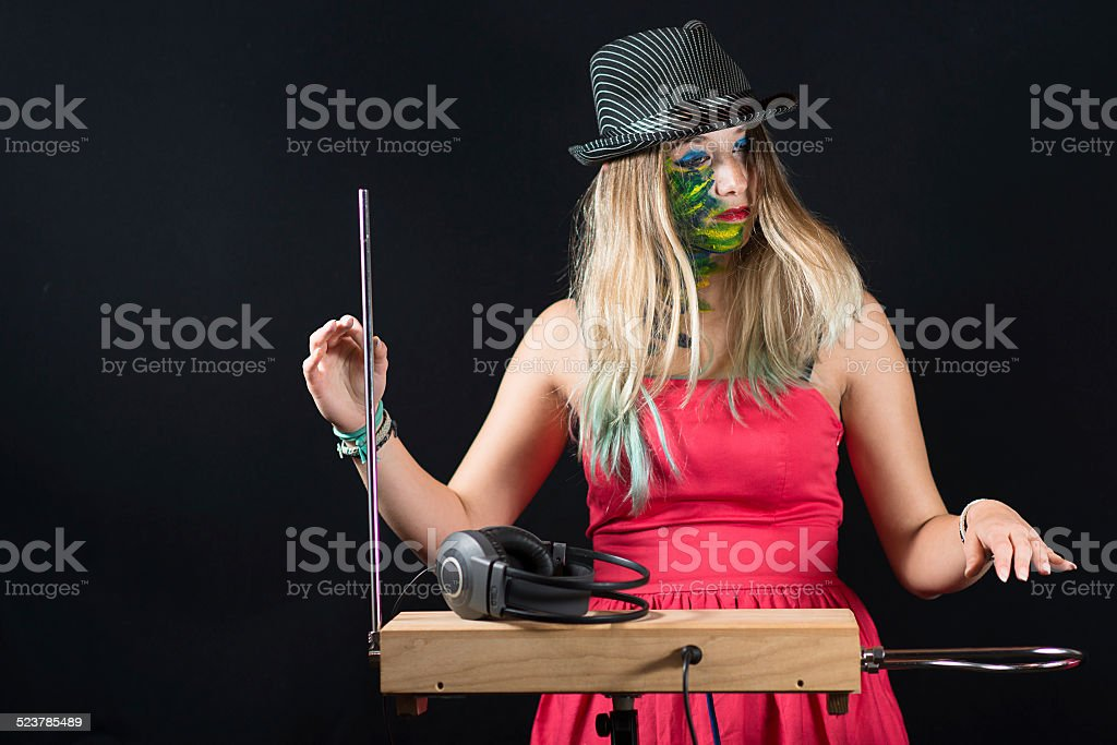 Theremin stock photo