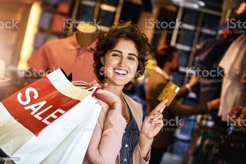 There's a card for that mid-month sales stock photo
