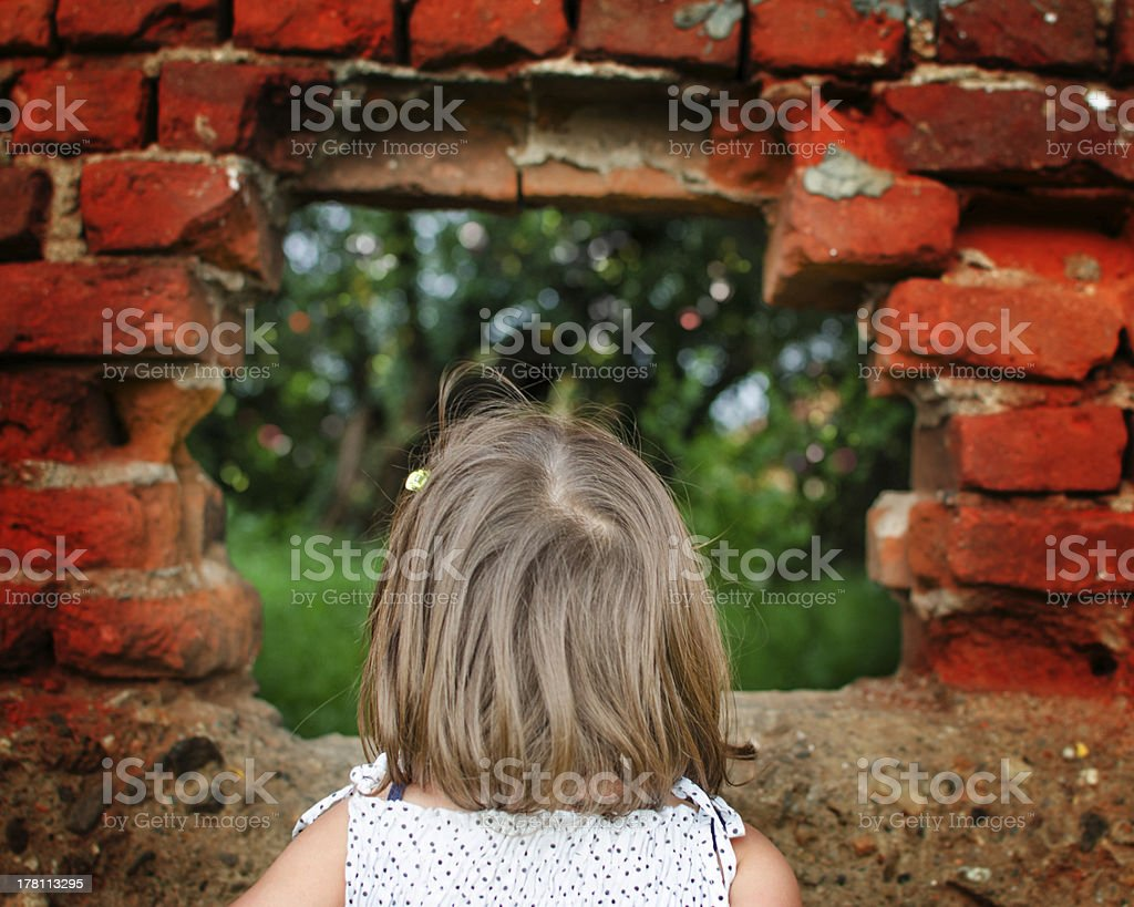 There's a new world out there royalty-free stock photo
