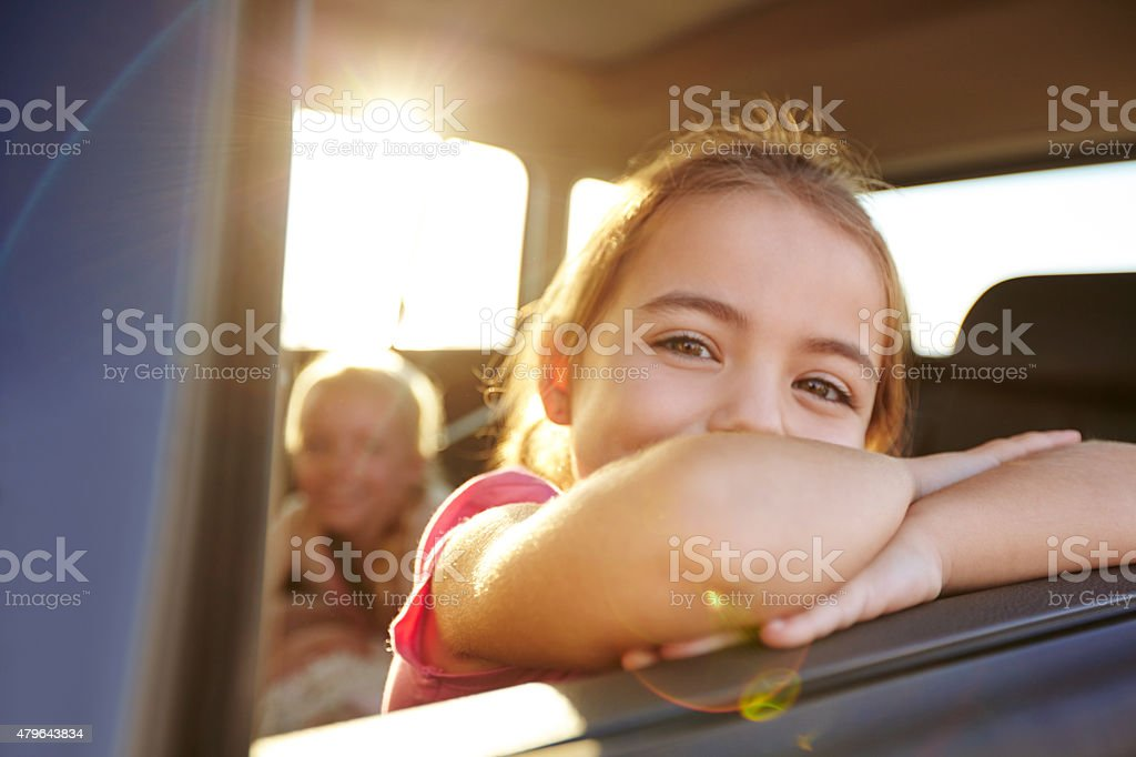 There's a whole world out there stock photo