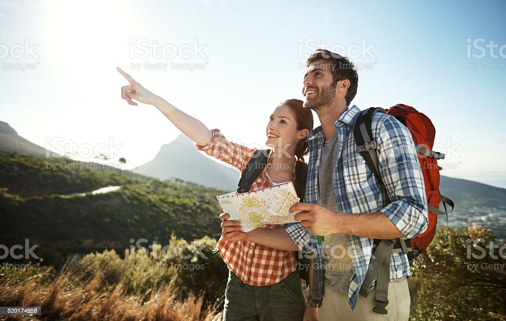 There's always one more place to go stock photo