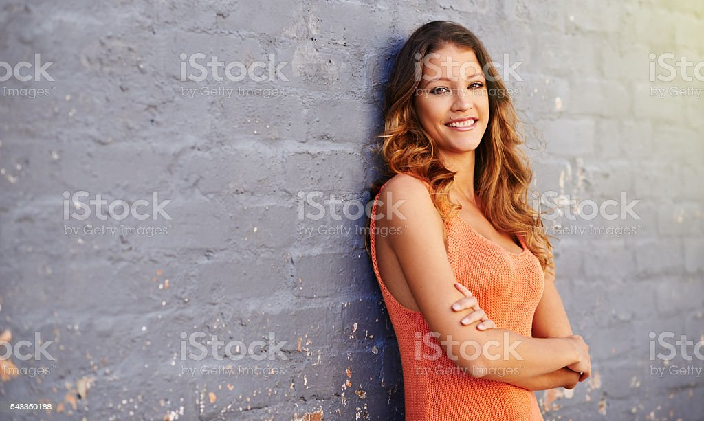 There's always something to be happy about stock photo